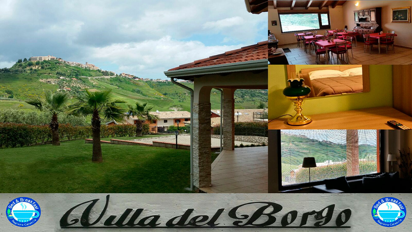 Benvenuti a Villa del Borgo